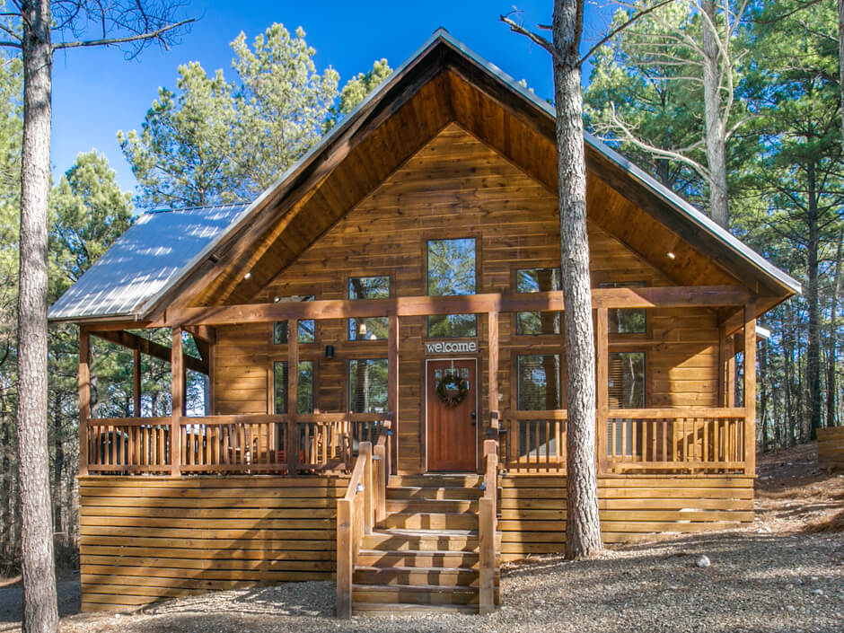 Woodland Escape Broken Bow 1 Bedroom Cabin