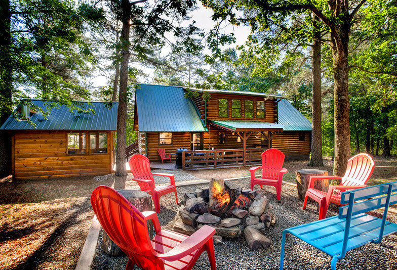 Chateau Broken Bow Fire-pit 3 Bedroom Cabin