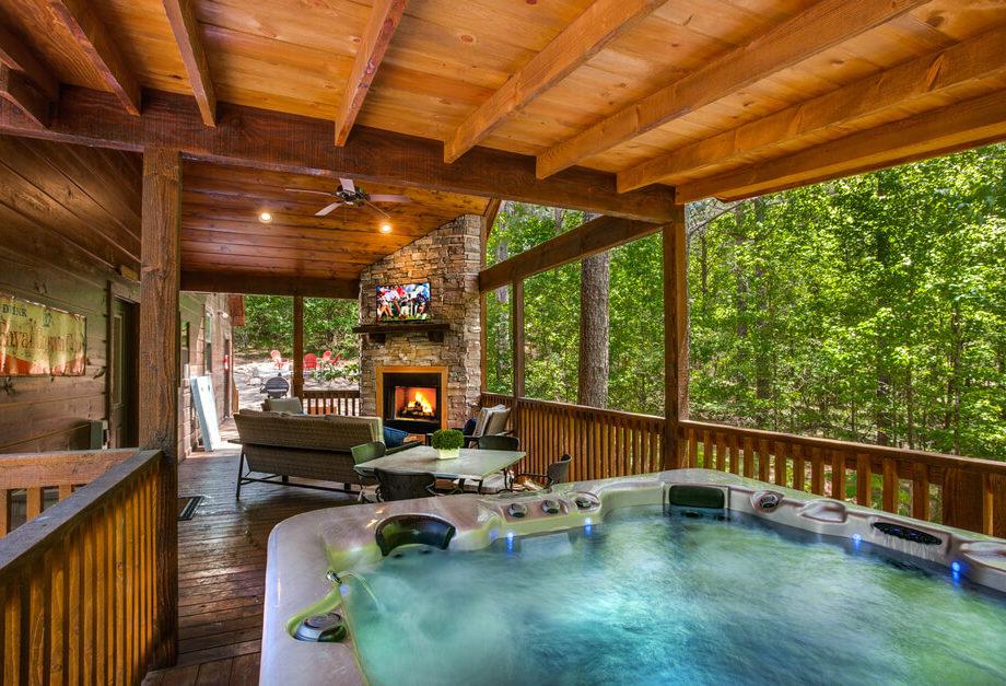 Bungalow Broken Bow - 2 Bedroom Cabin - Hut tub